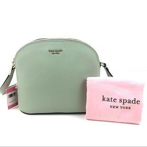 Kate Spade Pistachio Medium Dome Crossbody Sylvia
